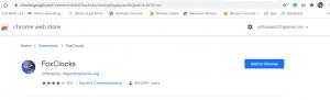 top 10 google chore extension (FoxClocks)